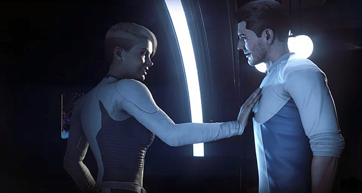 Mass Effect Andromeda gay romance frustration