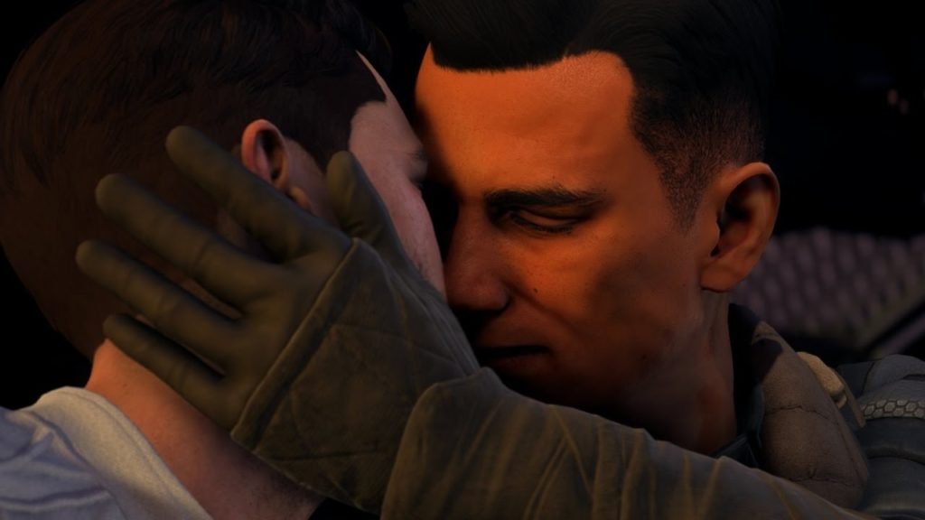 Mass Effect Andromeda gay romance option Reyes