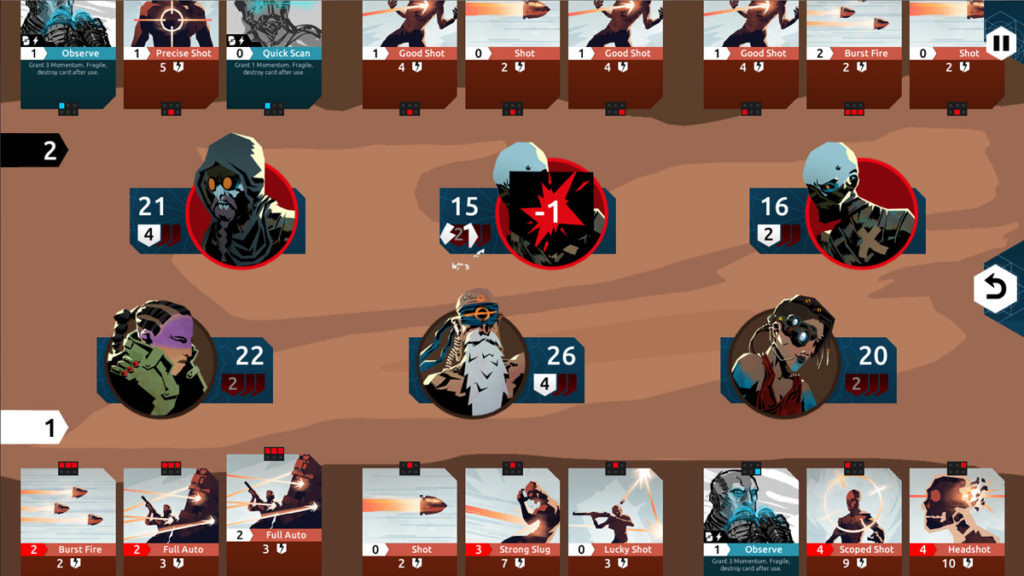 Nowhere Prophet screenshot card combat