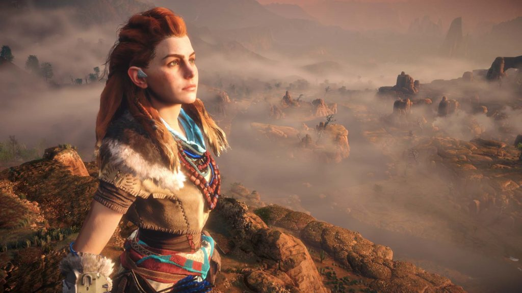 Horizon Zero Dawn Aloy development