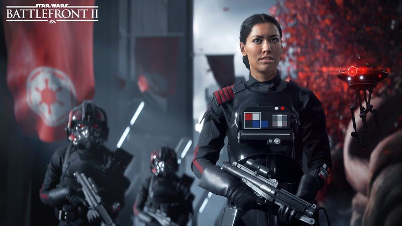 Star Wars Battlefront 2 female character makes sense