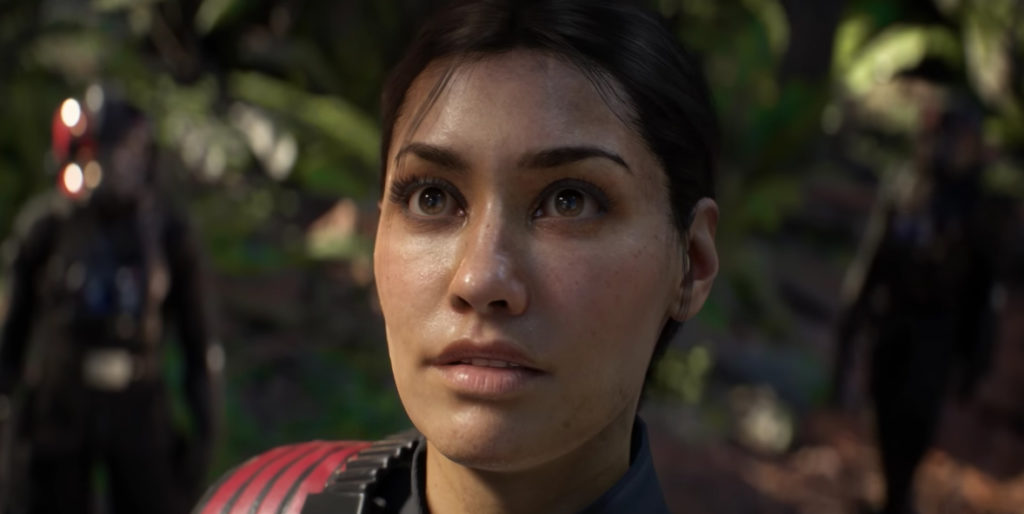 Star Wars Battlefront 2 female protagonist
