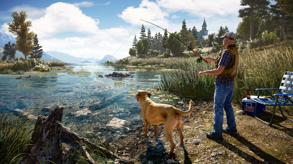 Far Cry 5 dog companion