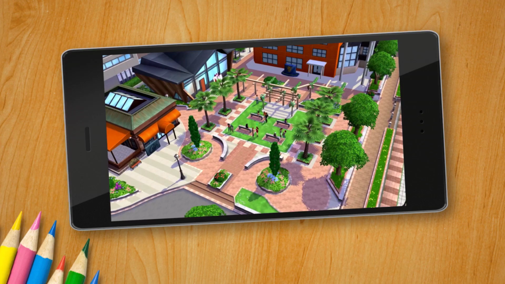 The Sims Mobile game screenshot
