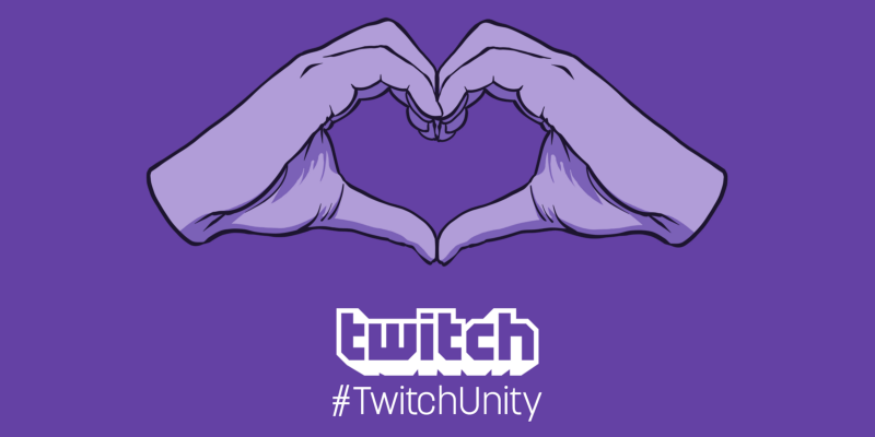 Twitch diversity inclusive TwitchUnity event