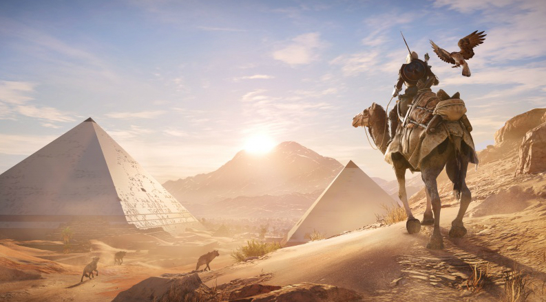 Assassin's Creed Origins hallucinations overheat feature