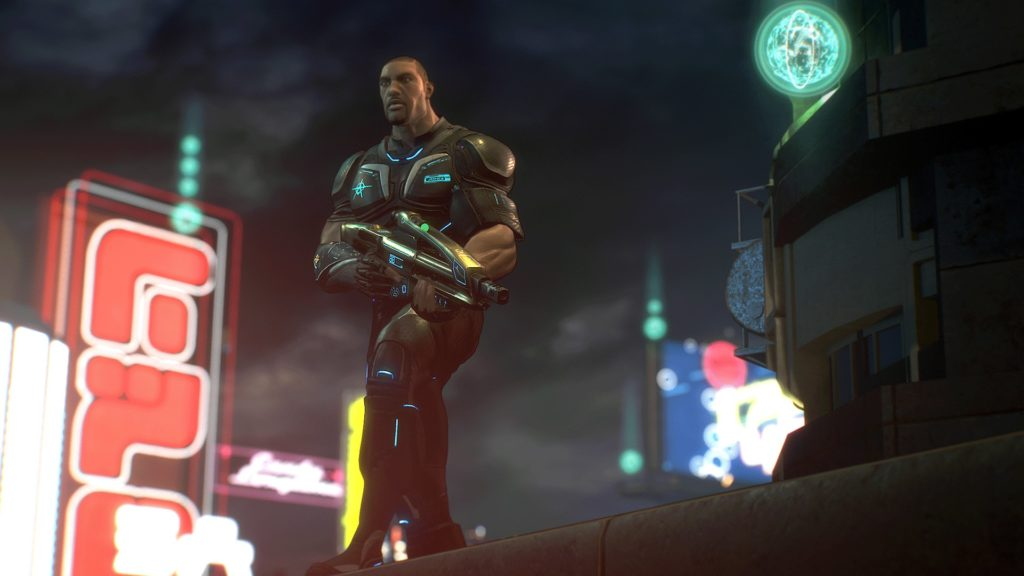 Crackdown 3 character customization