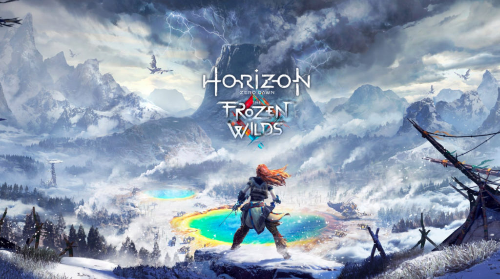 E3 2017 Horizon Zero Dawn DLC The Frozen Wilds