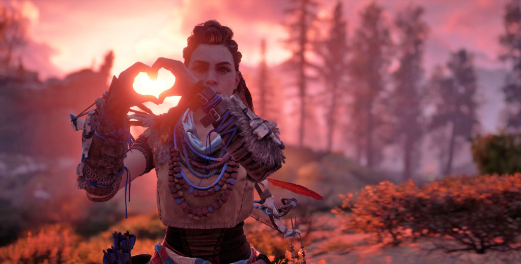 Horizon Zero Dawn romance feature