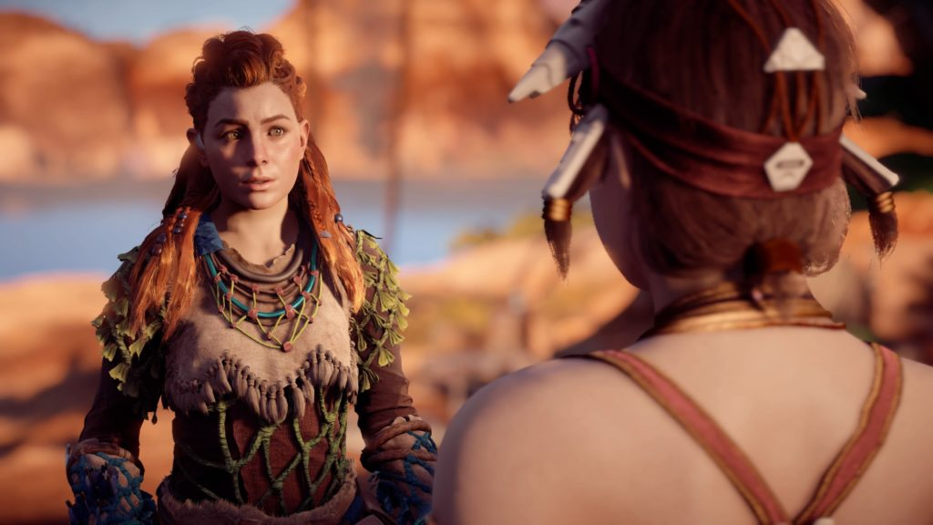 Horizon Zero Dawn screenshot conversation