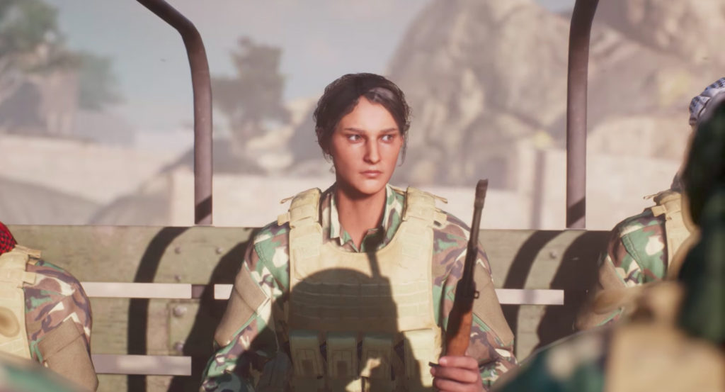 Insurgency Sandstorm trailer female character