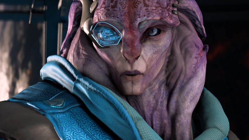 Mass Effect: Andromeda patch Jaal bisexual