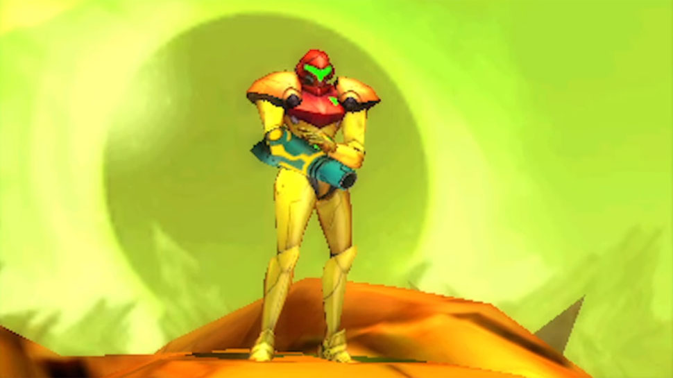 Metroid: Samus Returns female protagonist Nintendo 3DS