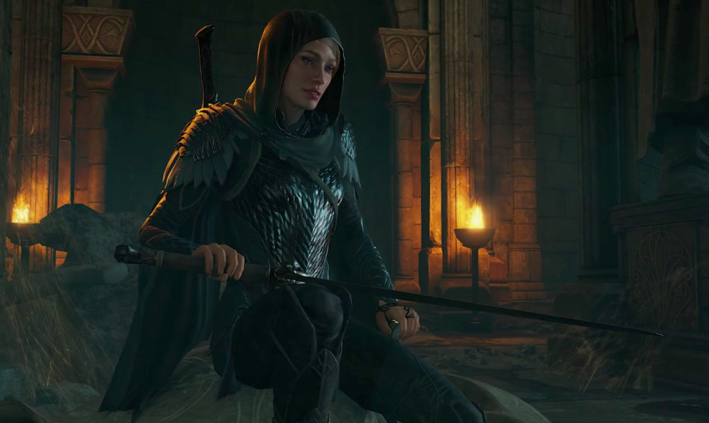 Middle-earth Shadow of War playable female character