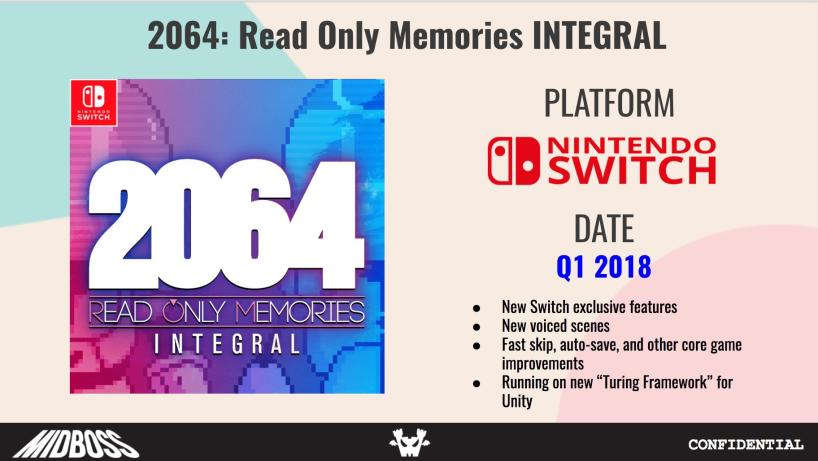 Read Only Memories Nintendo Switch features