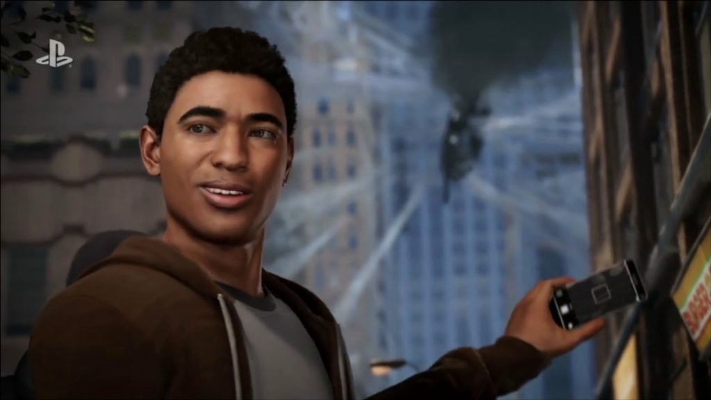 Spider-Man PS4 Miles Morales cameo
