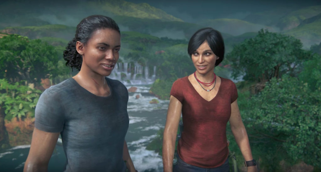 Uncharted The Lost Legacy Chloe and Nadine wallpaper