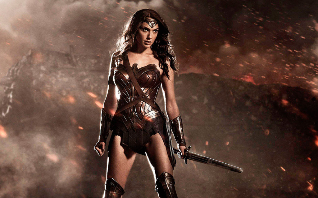 Wonder Woman movie DC Legends update