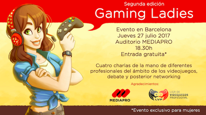 Gaming Ladies event no King support