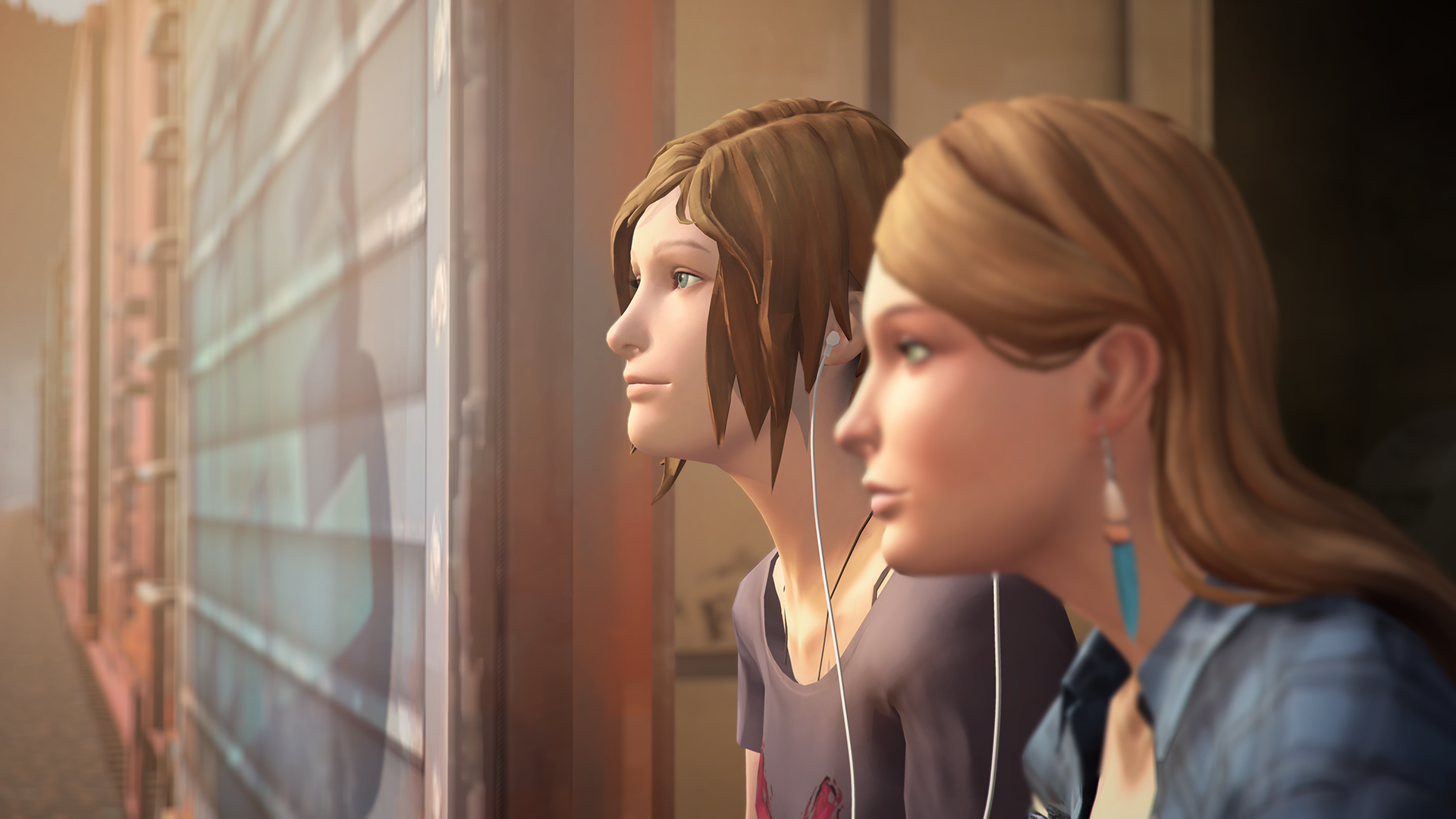 Life is Strange: Before the Storm Chloe and Rachel