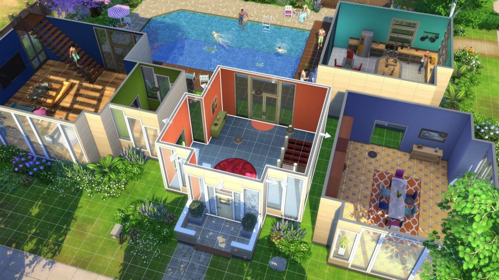 The sims 4 announced for ps4 and xbox one j station x for Pool designs sims 4