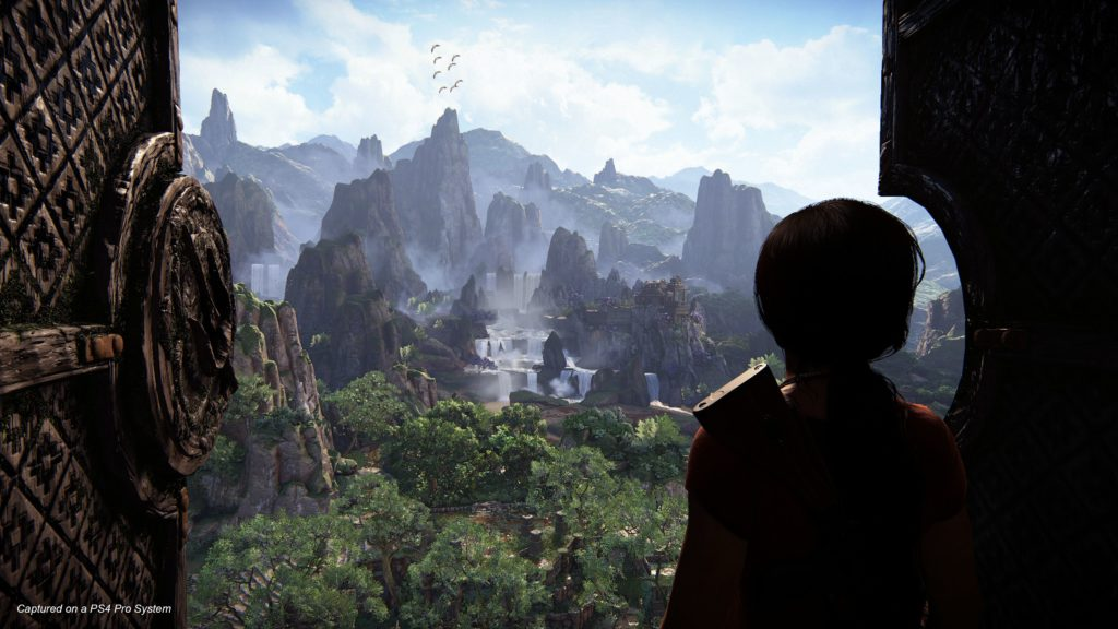 Uncharted The Lost Legacy screenshot PS4 Pro
