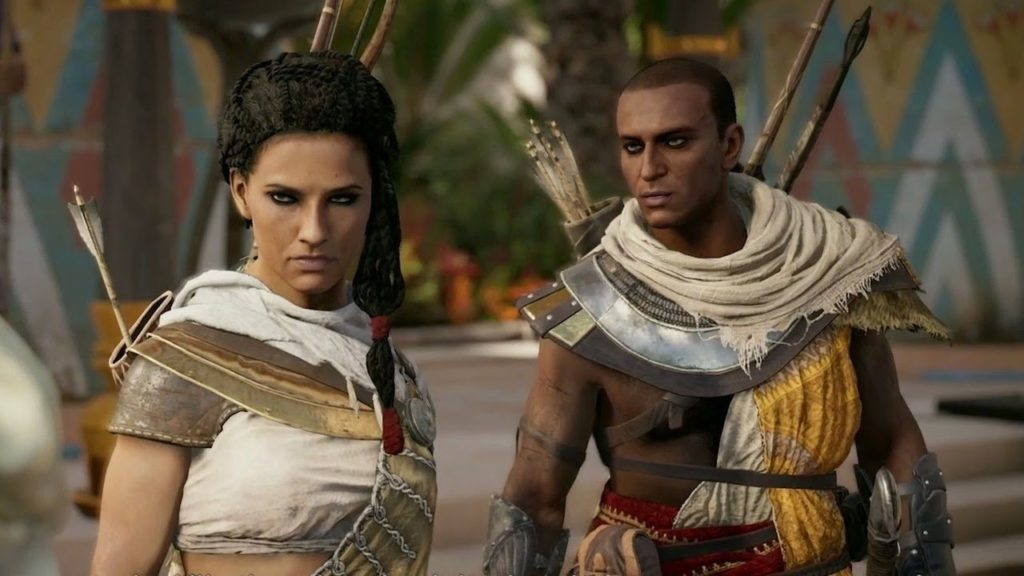 Assassin's Creed Origins playable female character