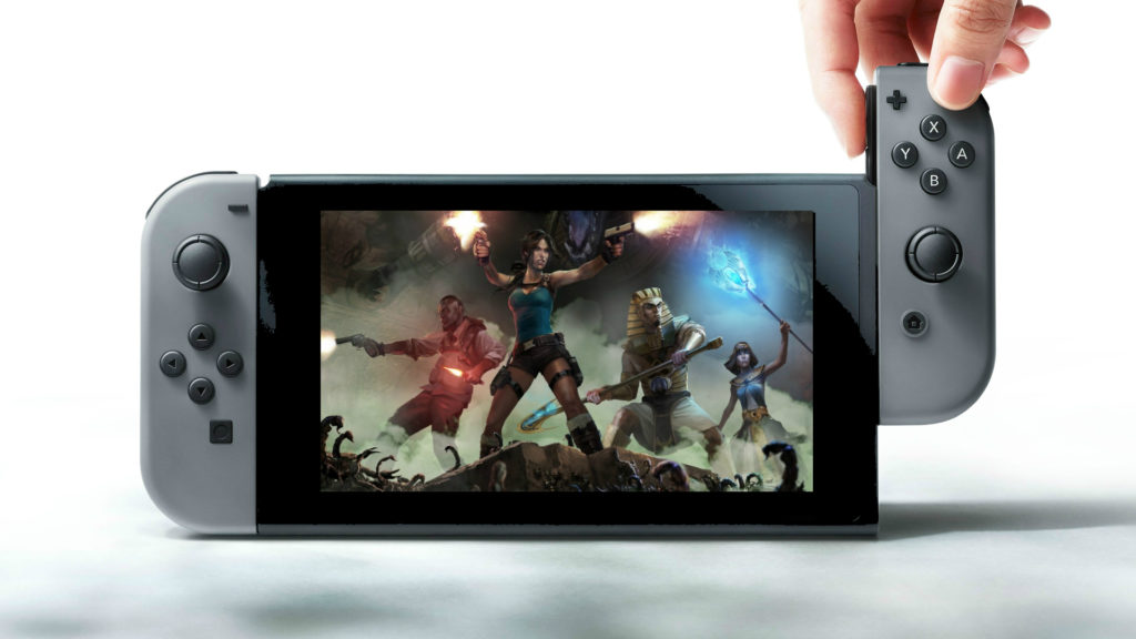 Lara Croft on Nintendo Switch