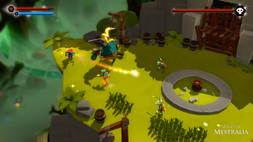 Mages of Mystralia PS4 release date