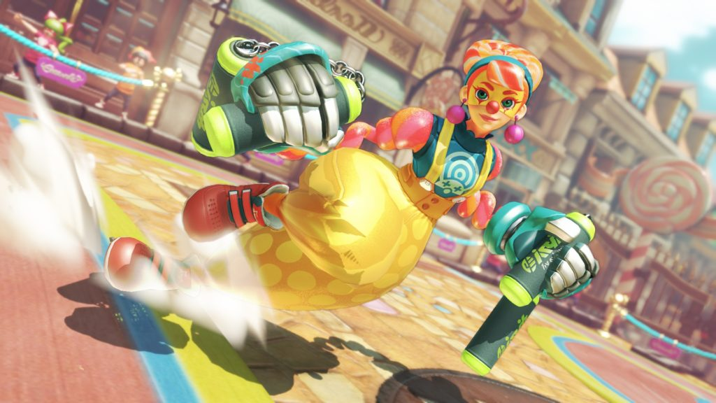 Nintendo Switch arms female character Lola Pop