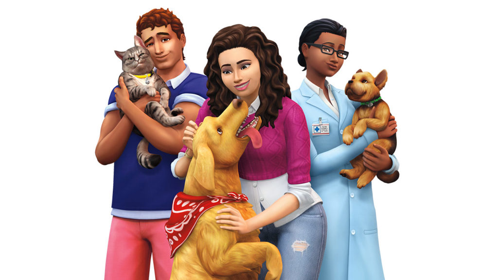 The Sims 4 Cats and Dogs DLC expansion pack