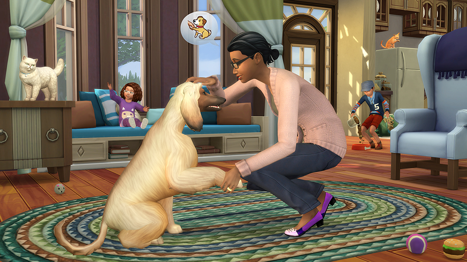 The Sims 4 Cats and Dogs screenshot