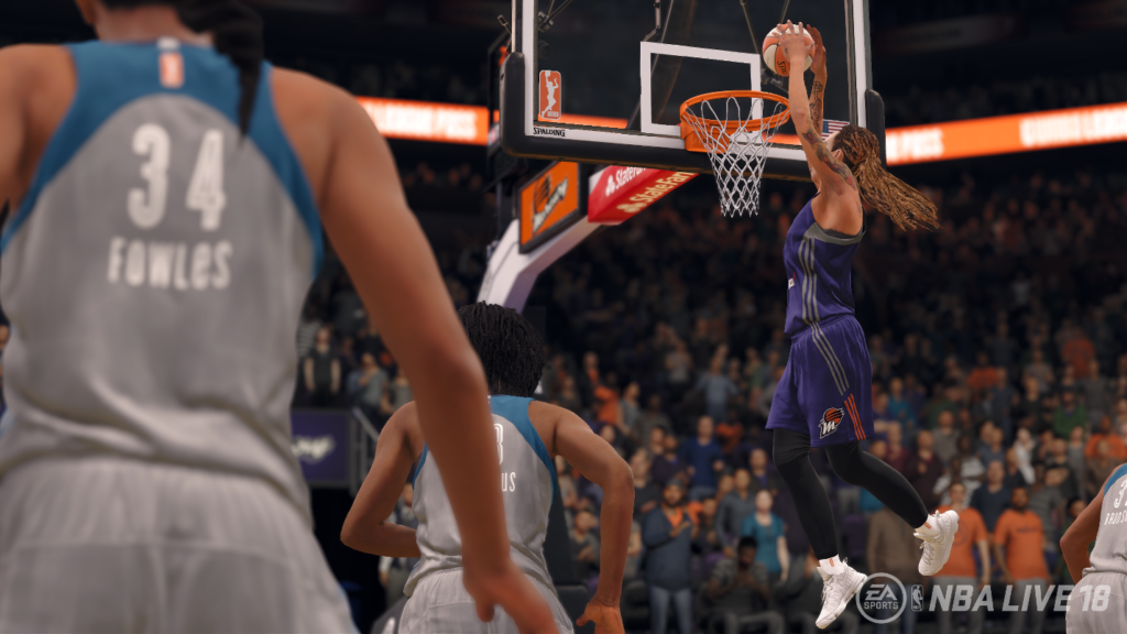 WNBA Brittney Griner NBA Live 18 screenshot