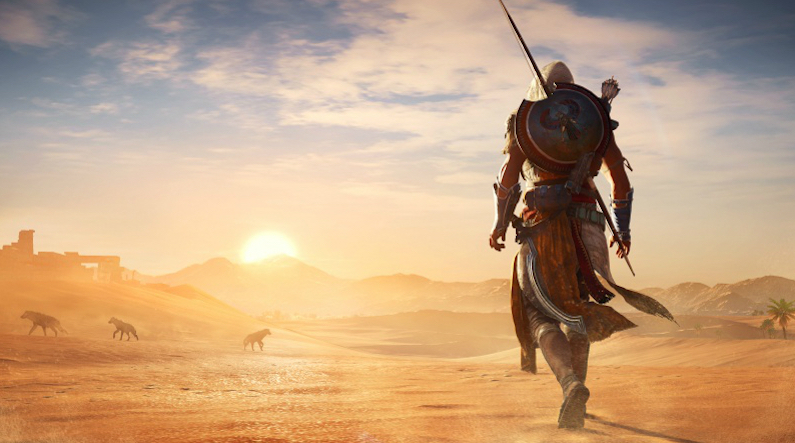 Assassin's Creed Origins Discovery Tour combat free
