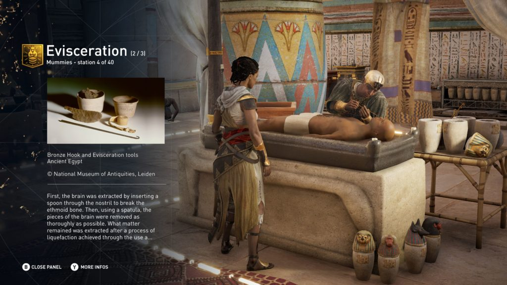 Assassin's Creed Origins female protagonist Aya screenshot