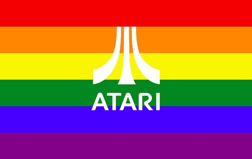 Atari LGBTQ games Pridefest interview