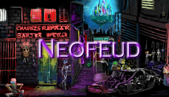 Cyberpunk Adventure 'Neofeud' Inspired by Game of Thrones, Blade Runner