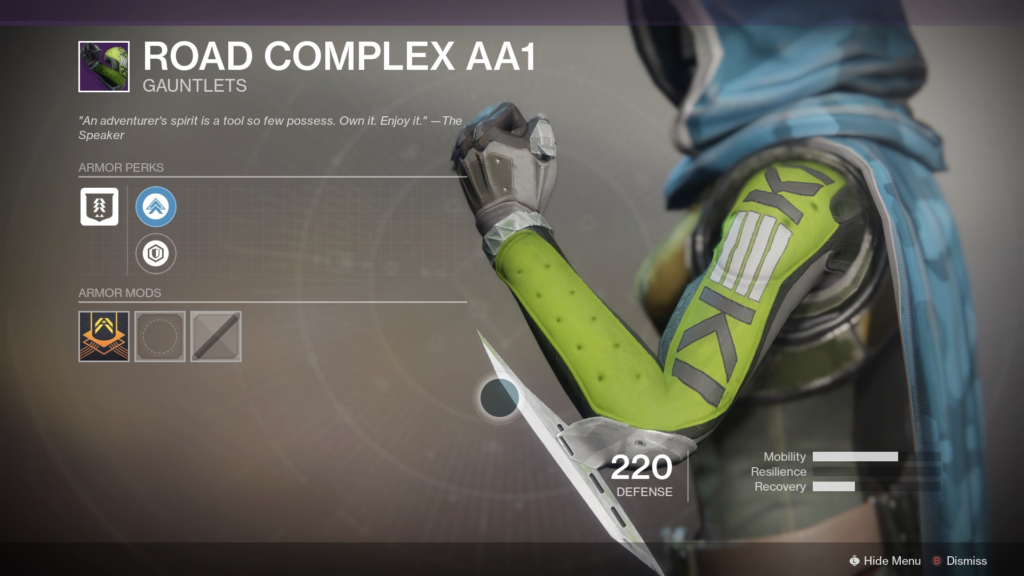 Destiny 2 white supremacist gauntlets
