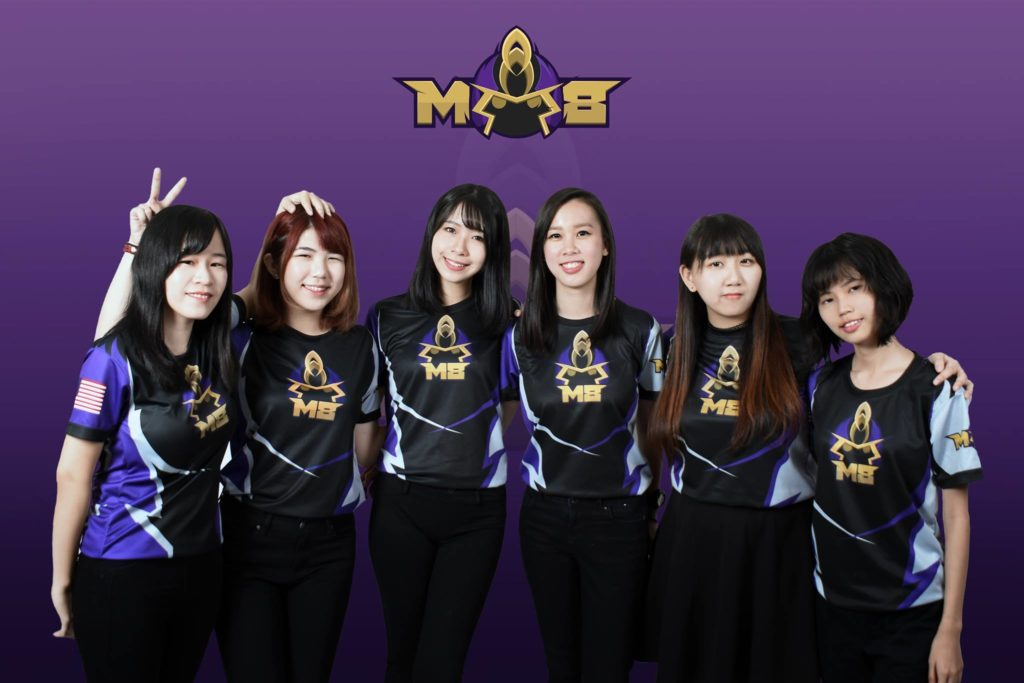 M8 Tempest all female Overwatch team