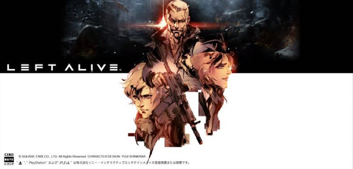 Square Enix Left Alive female protagonist