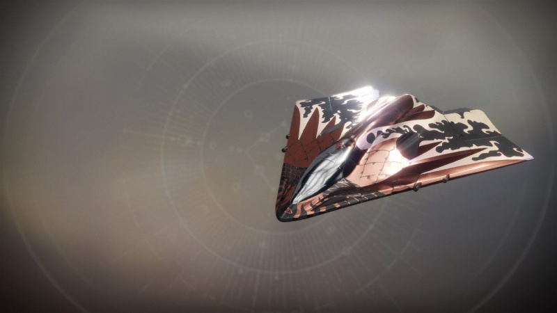Destiny 2 Exotic ship Eriana's Vengeance