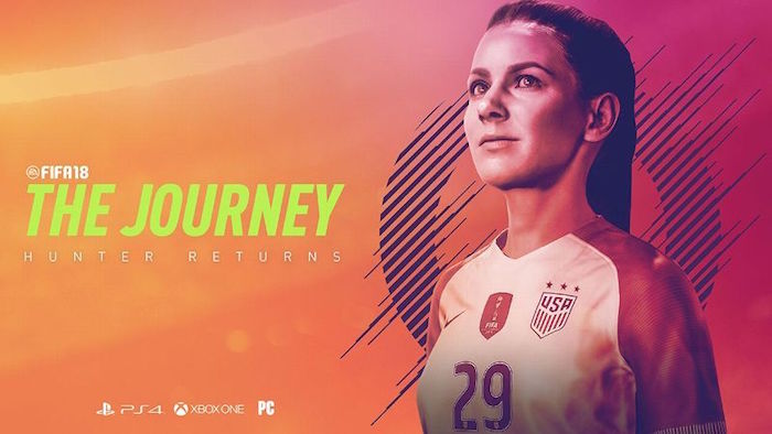 FIFA 18 The Journey female protagonist