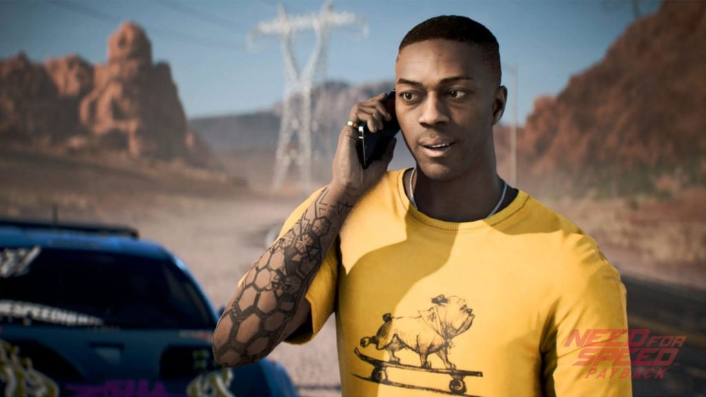 Need for Speed Payback playable character Mac