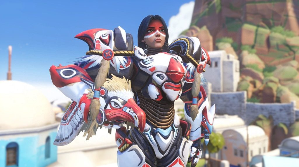 Overwatch Pharah Native American confirmed