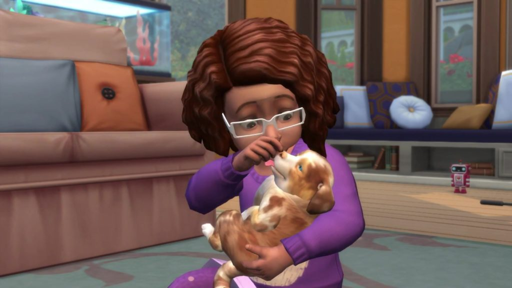 The Sims  Cats And Dogs Lazy