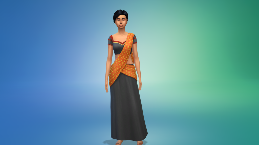 The Sims 4 Diwali outfit