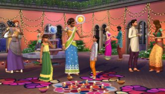 The Sims 4 Holiday Celebration Pack Gets Diwali Update