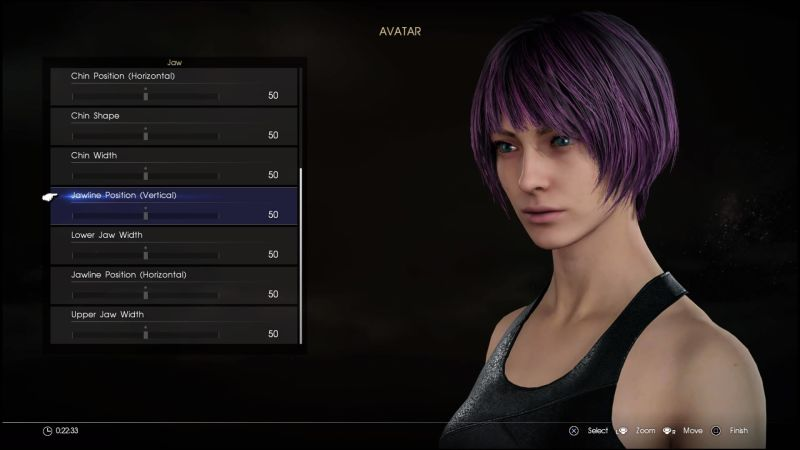 Final Fantasy DLC Comrades female character creation