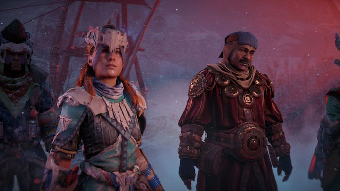 Horizon Zero Dawn The Frozen Wilds DLC new story content