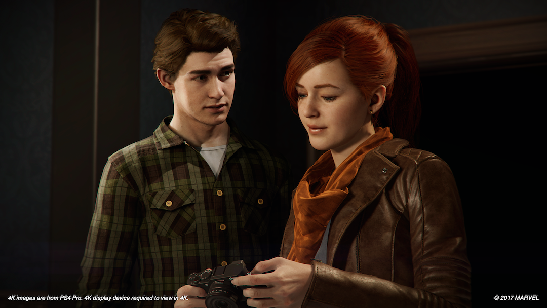 Marvel's Spider-Man Mary Jane playable female character